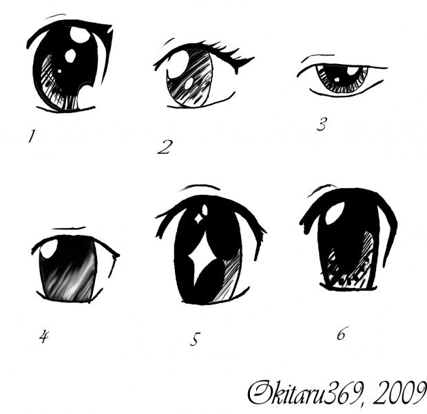 how to draw cool alien eyes