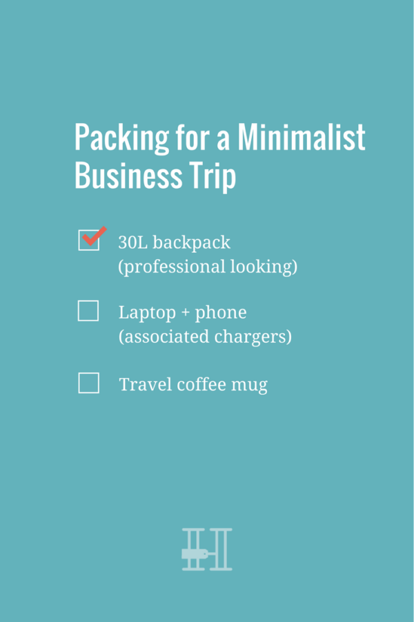 ultimate female packing list for a minimalist business trip that s