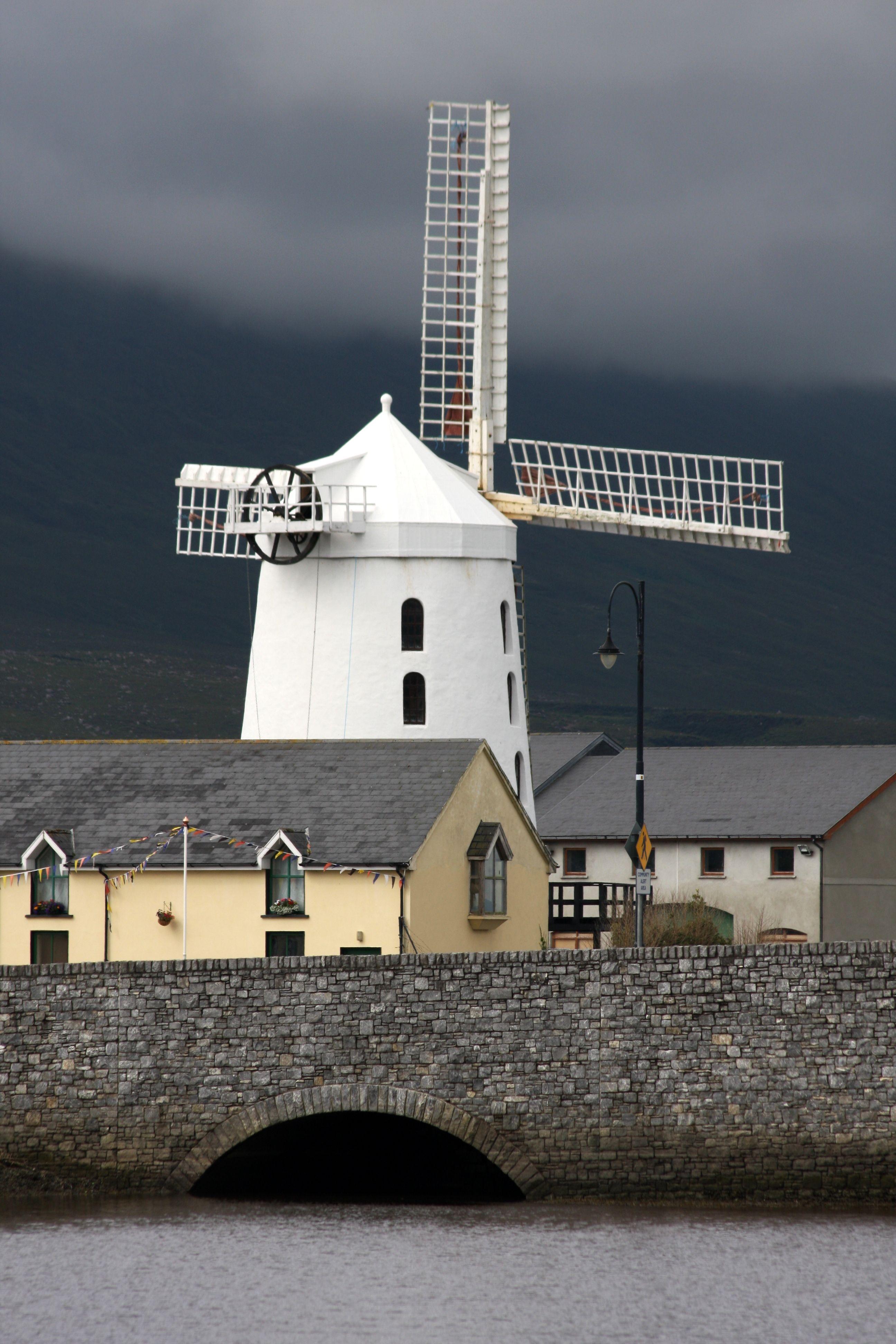 Molinos De Viento Windmill Places Around The World Ireland