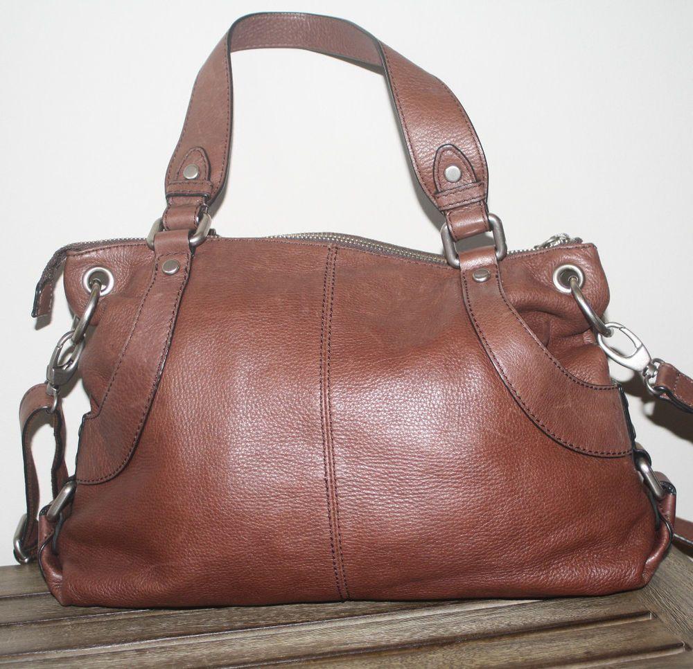 Fossil handbag leather crossbody or shoulder bag  | eBay