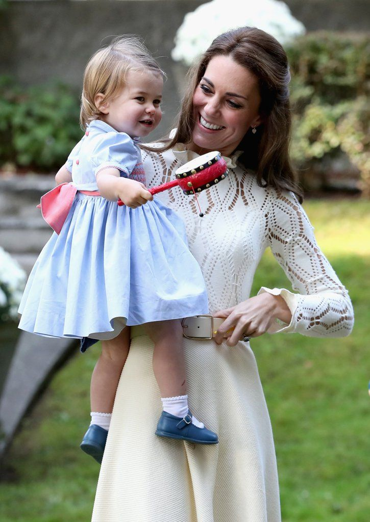 Prince George and Princess Charlotte Play With Bubbles and Pet Animals During a Play Date in Canada