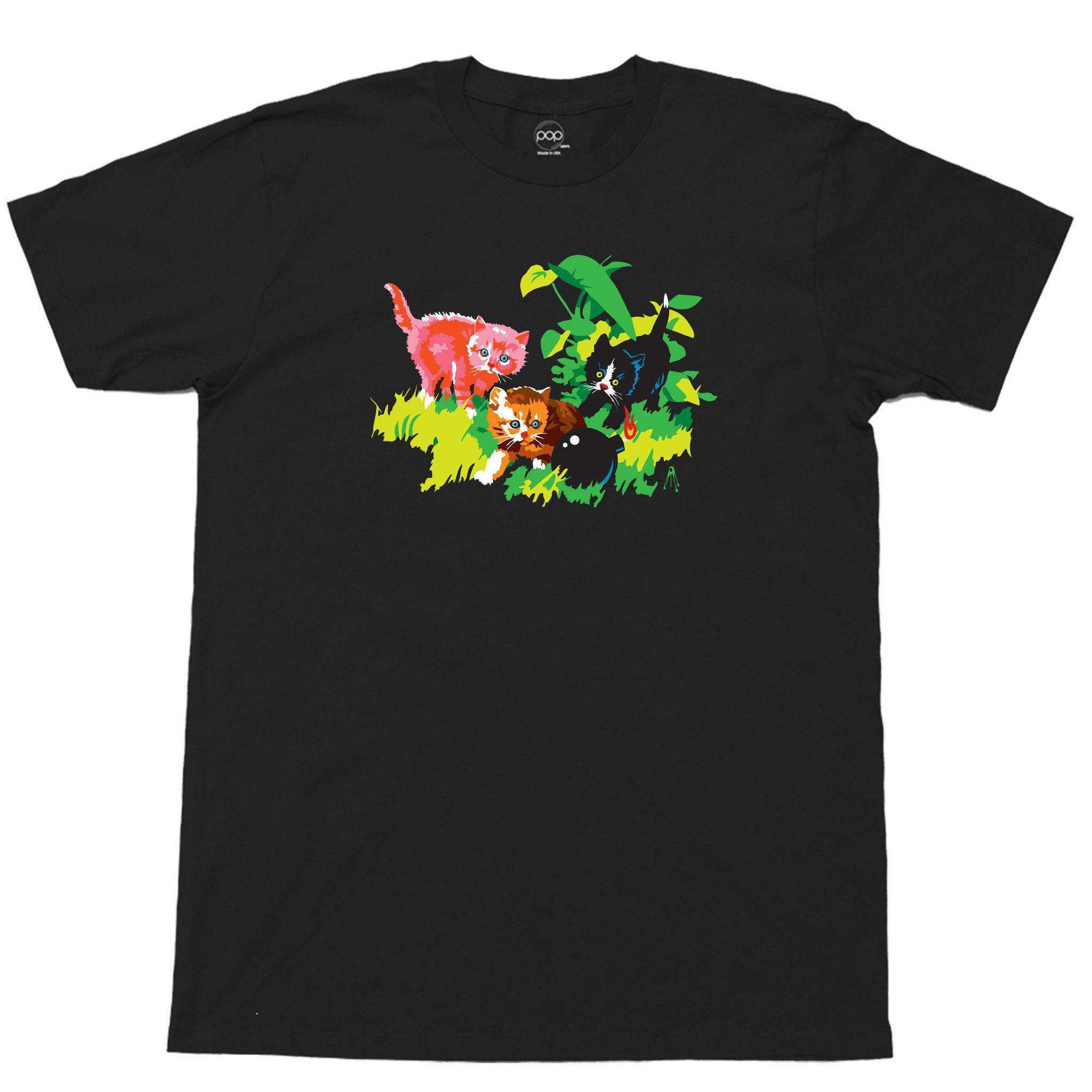Popkiller Artist Series Kii Arens Cats Classic T-shirt