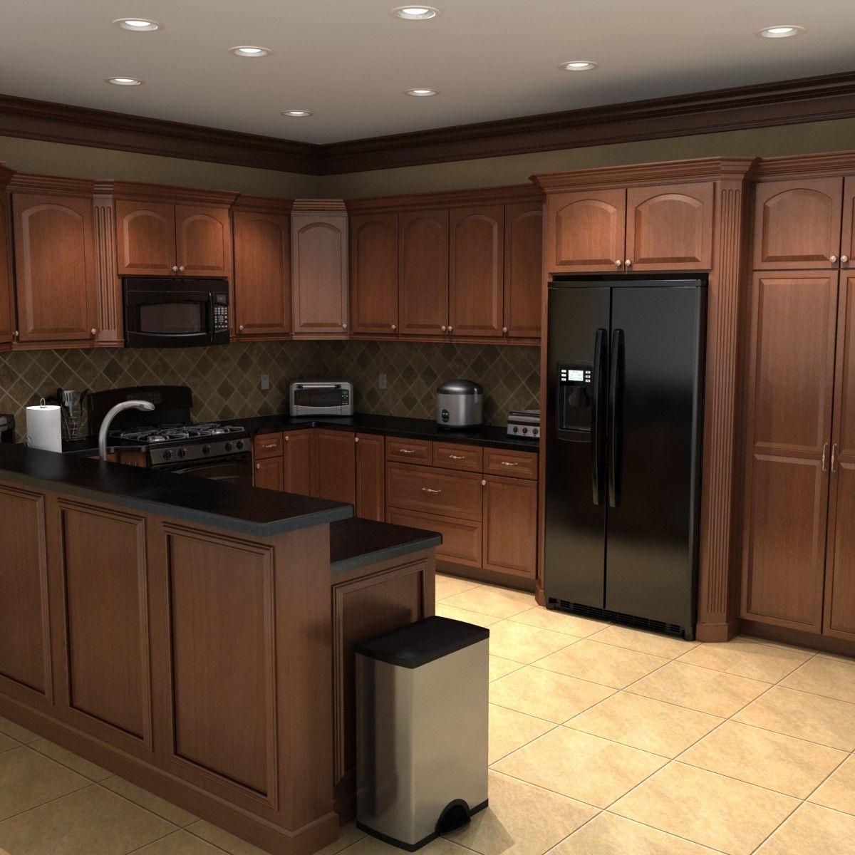 3Ds Max Kitchen Scene Set  Cs Kitchens  Pinterest  3Ds Max Captivating Kitchen Models 2018