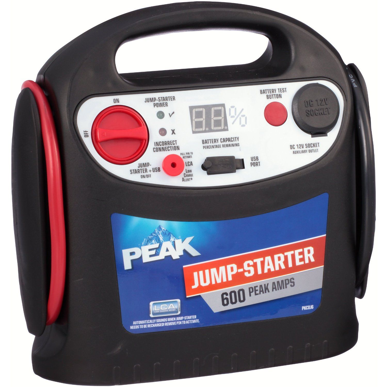 jump starter wih air compressor