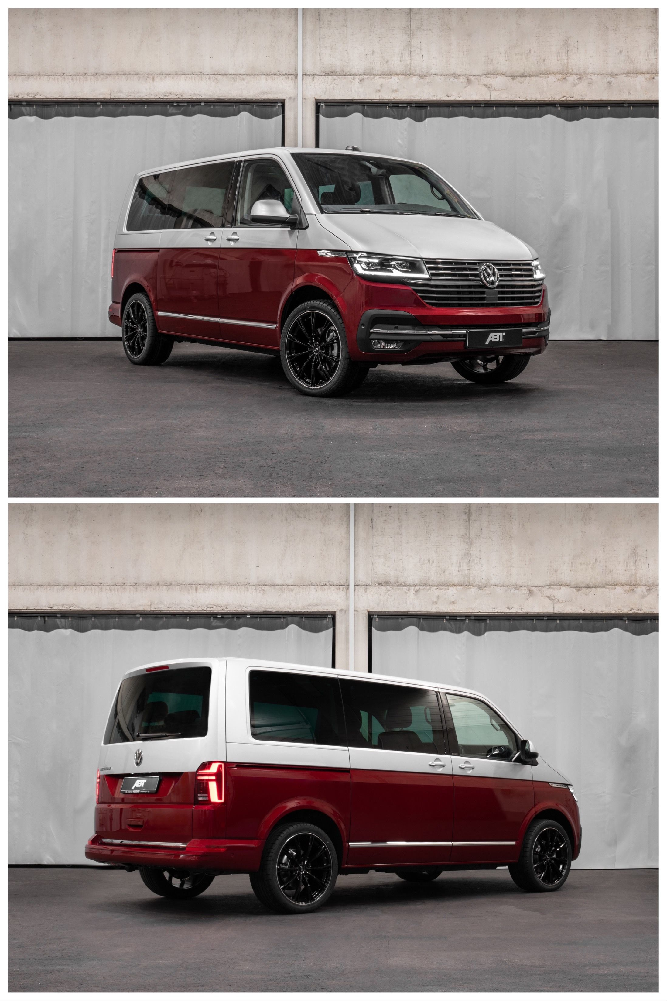 Vw Tuner Abt S Kit Boosts The T6 Van S Diesel Performance With Up