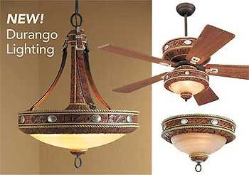 Durango Western Light Fixtures Wild Wings My Style