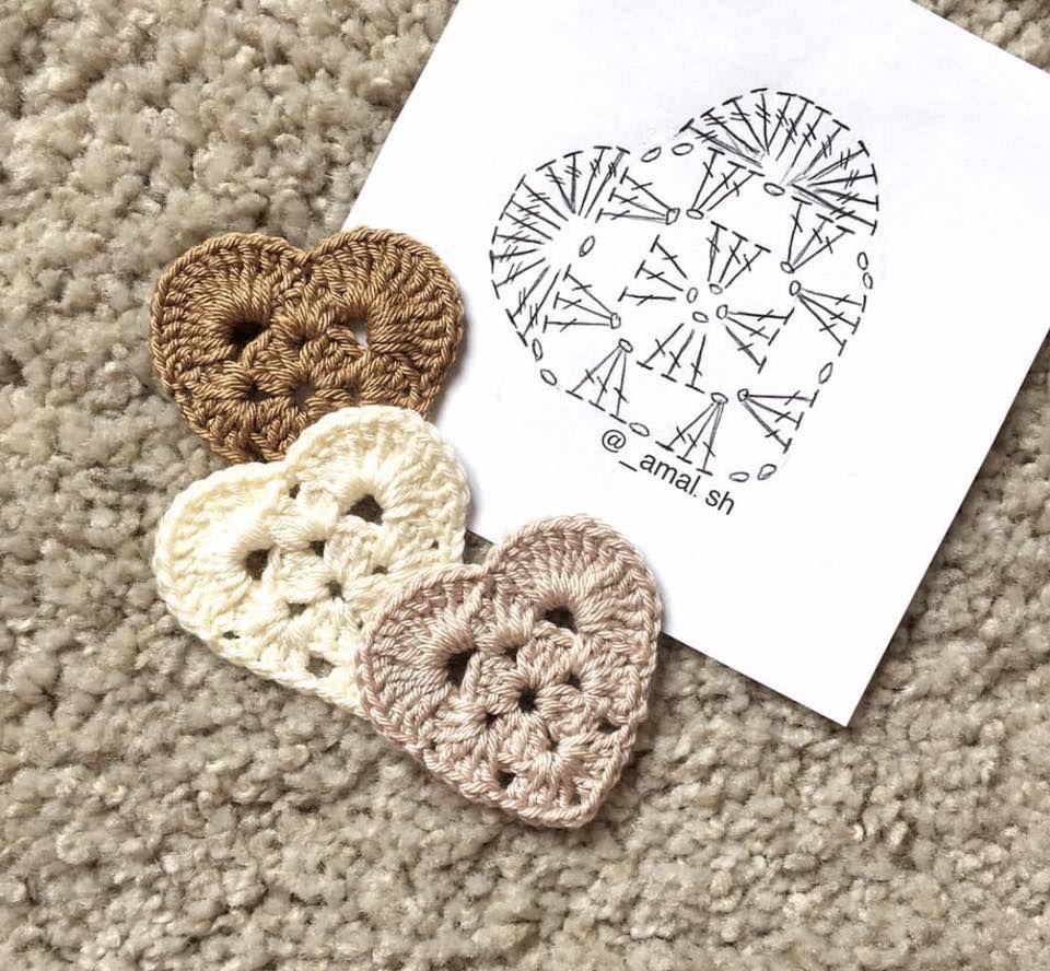 Croche e Pontos: Motivos 7/2/17   Be my valentine!   Pinterest ...