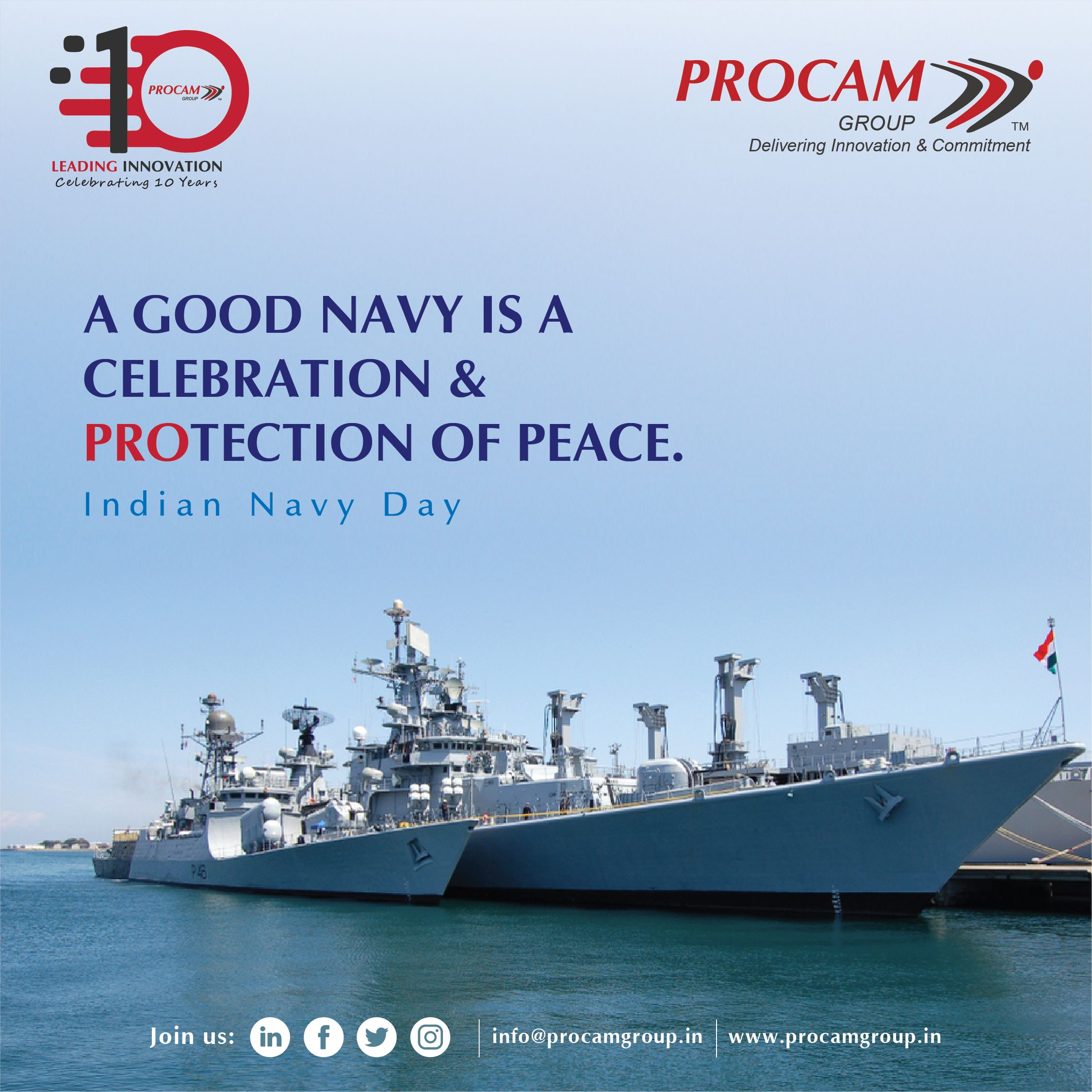 Indian Navy Day Indian Navy Day Navy Day Supply Chain Solutions