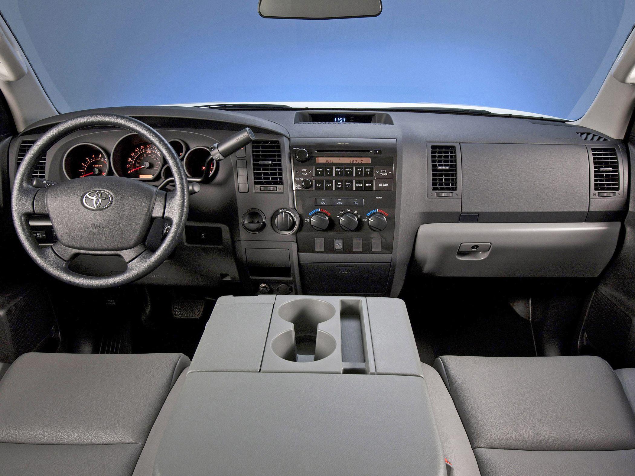 tundra min garage sscluxuryautomobile platinum interior toyota