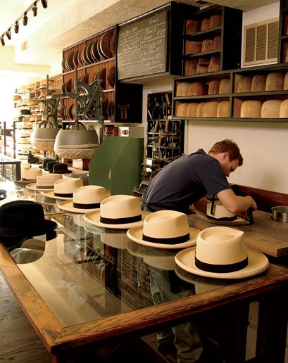 1f60bca45 The Seven Best Hat Stores in America: Best Stores in America: GQ Save for a  later date