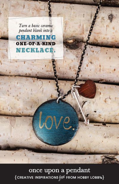 Hobby Lobby Project - Once Upon a Pendant - necklace