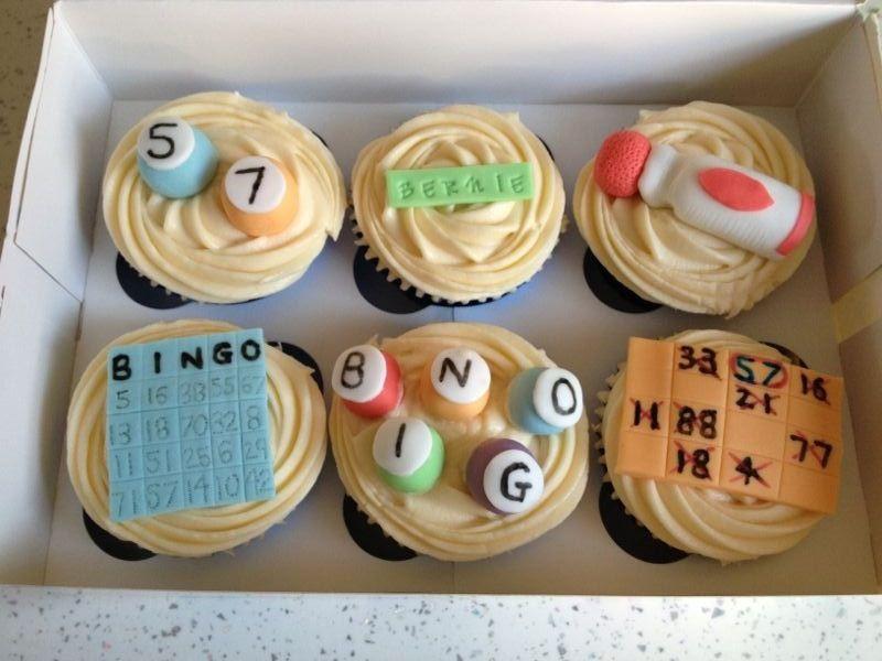 BINGO cupcakes