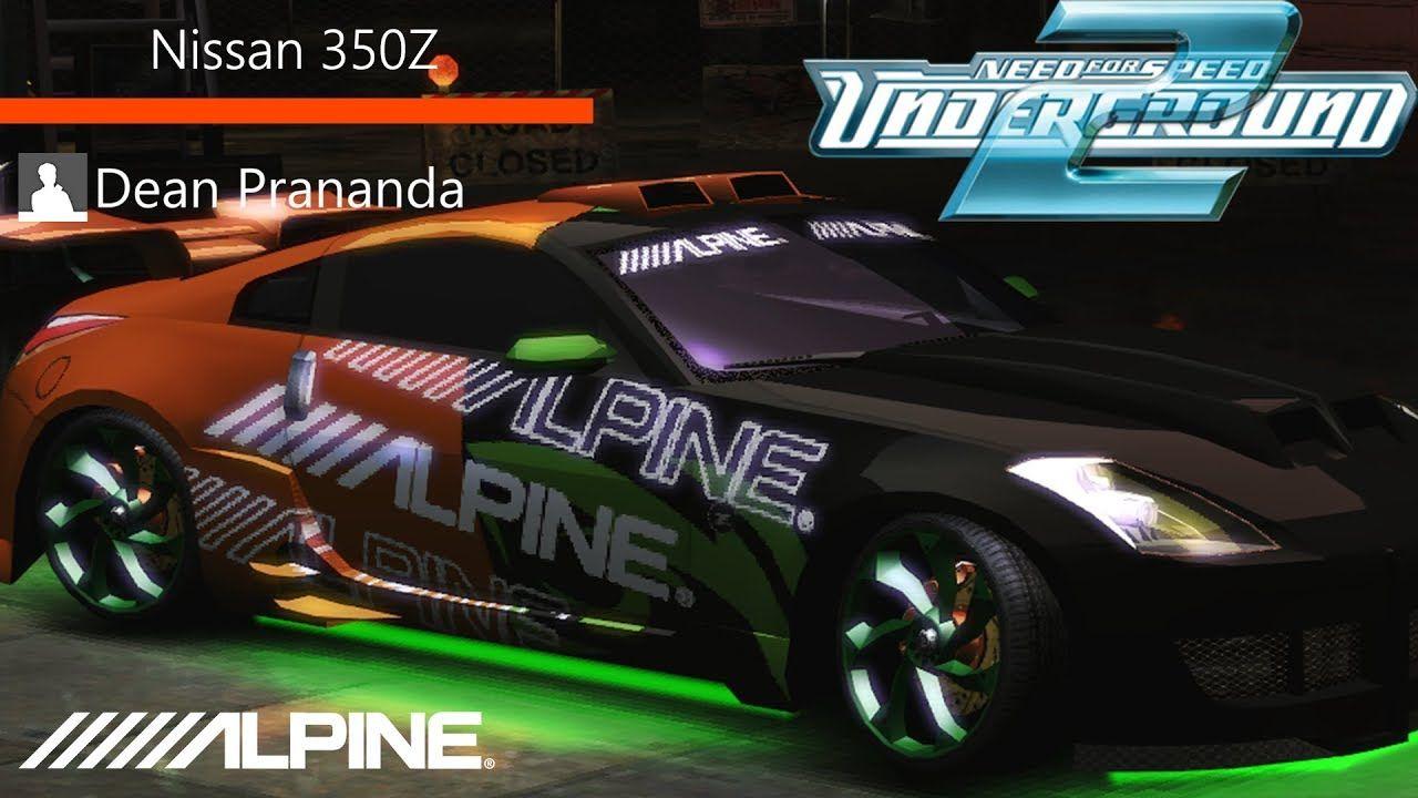 Nfs Underground 2 Nissan 350z Tuning Youtube Nissan
