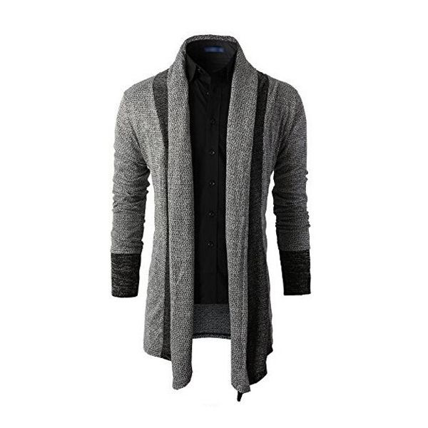 Sweater Men Brand Clothing Patchwork Cardigan Knitted Pullover Men ...