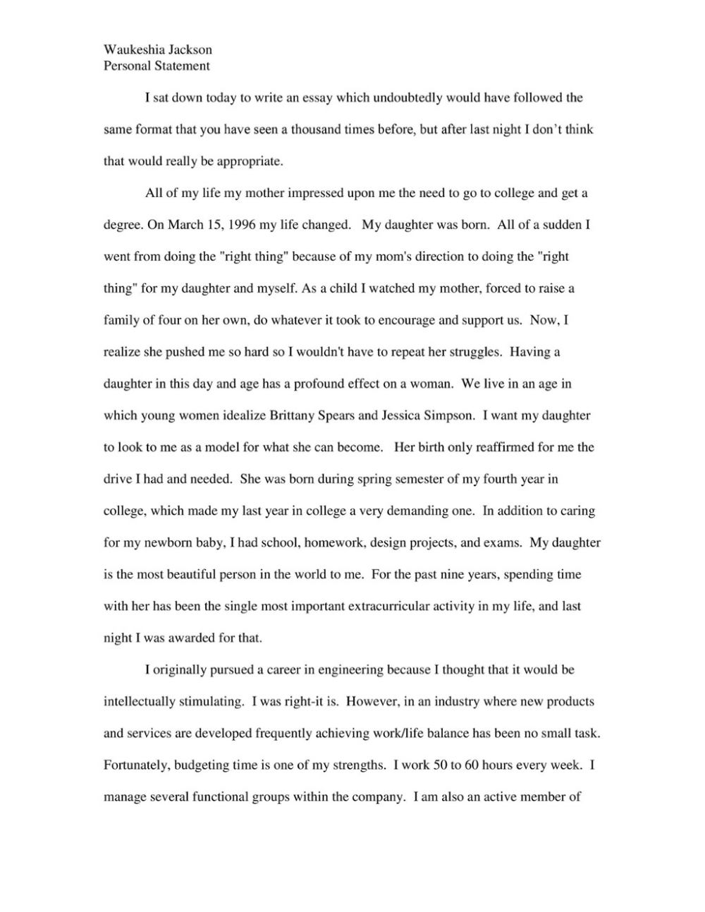 Personal essay to law schools the tell tale heart literary analysis skillbuilder answers
