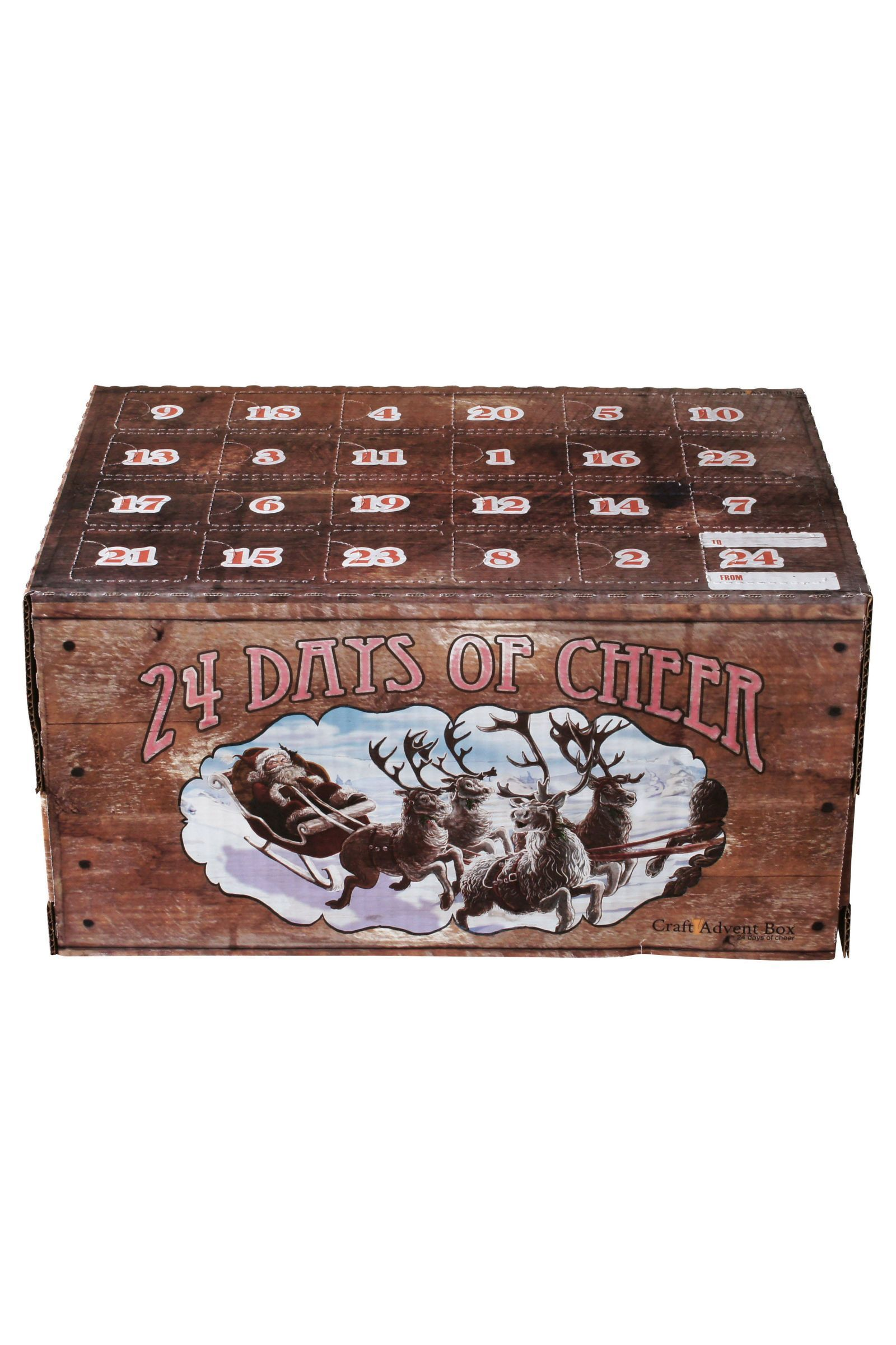 Cheers to Christmas with a DIY Beer Advent Calendar #wineadventcalendardiy A DIY Beer Advent Calendar Is Basically the Best Christmas Gift Ever #wineadventcalendardiy