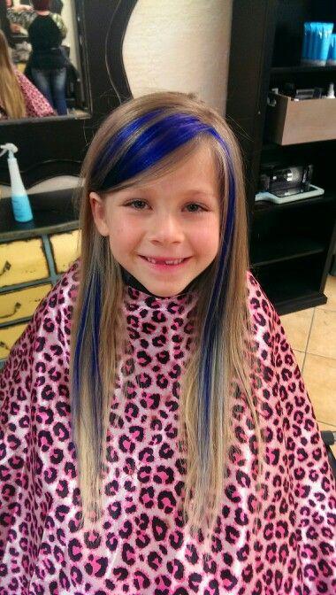 Kid Hair Blue Hair Fun Hair Hair By Kenzie Fear Long Hair