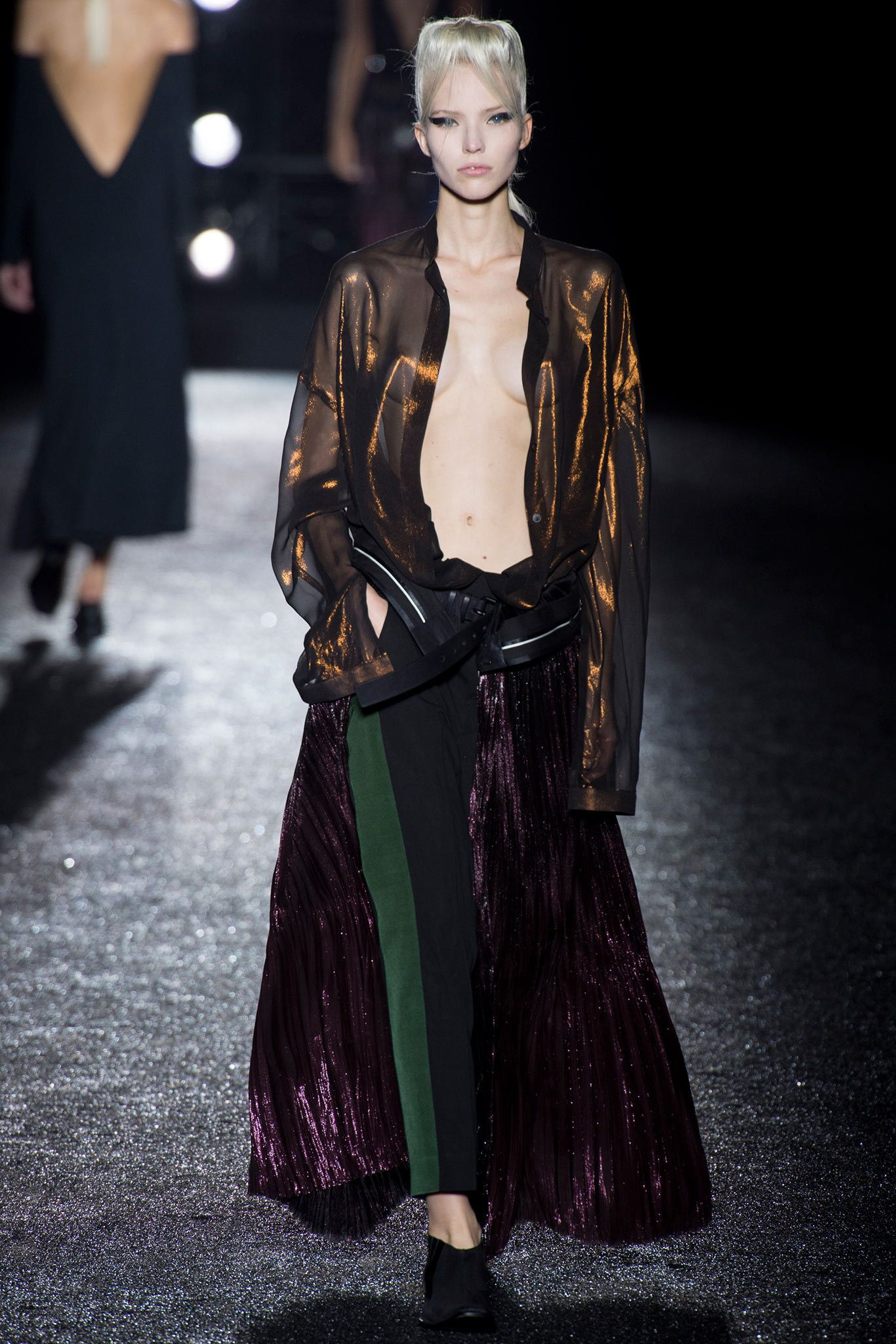 Haider Ackermann Spring 2014 Ready-to-Wear Fashion Show - Auguste Abeliunaite