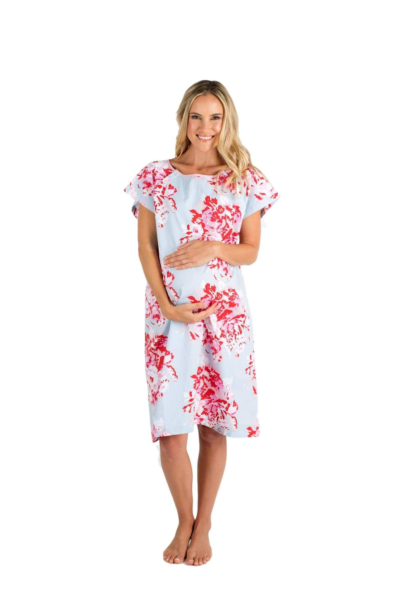 a6fdbf858df83 Mae Gownie Maternity Delivery Labor Hospital Birthing Gown | Adia ...