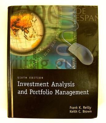 6th Edition Investment Analysis and Portfolio Management Reilly - investment analysis