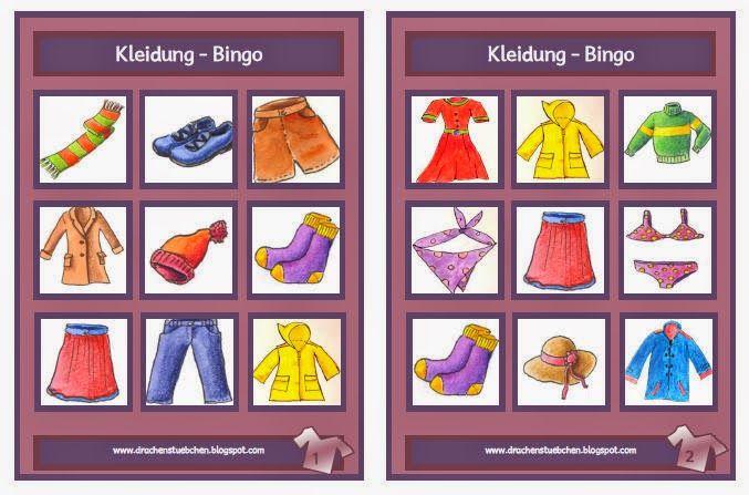 Bingo Spielregeln Unterricht
