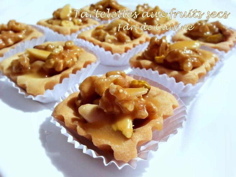 Tartelettes aux Fruits Secs, Caramel au beurre salé