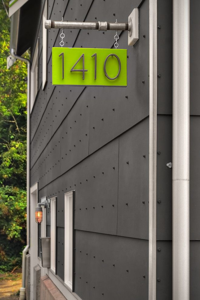 Modern Duplex House Numbers Diy Modern House Number House Numbers