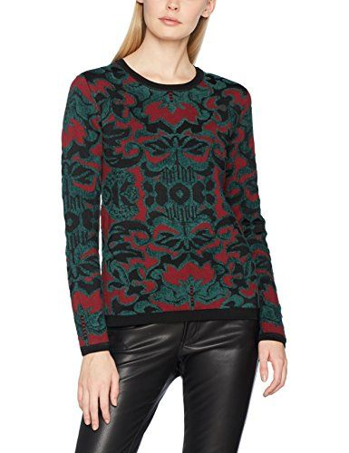 Pullover Femme Pull Soda Multicolore A Scotch amp; Knit Jacquard combo vIY6q