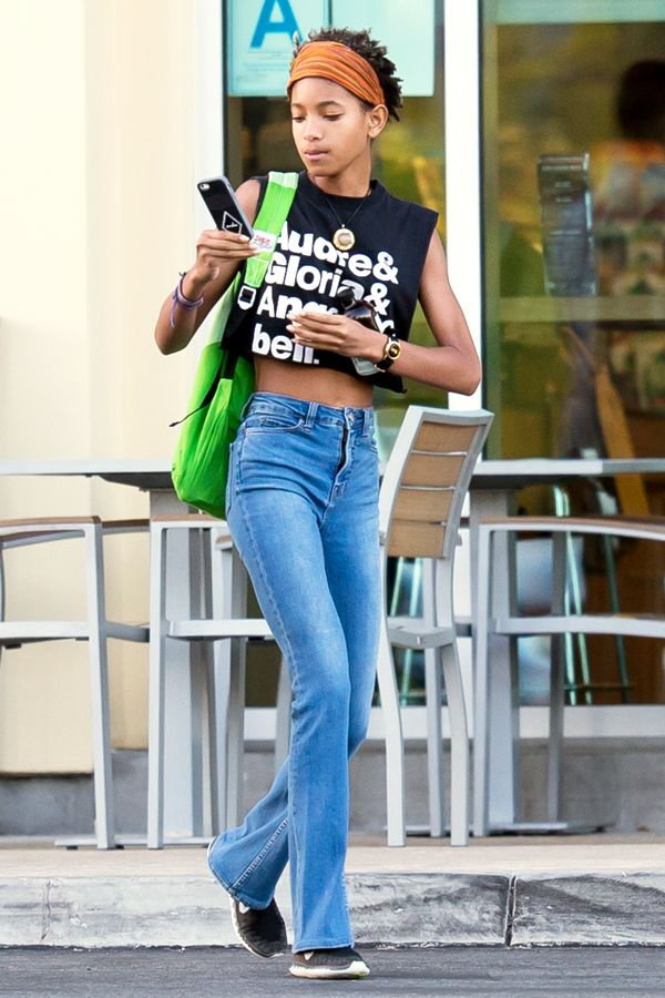 All Hail Willow Smith's Amazing Feminist T-Shirt #refinery29  http://www.refinery29.com/2015/03/83532/willow-smith-feminist-t-shirt