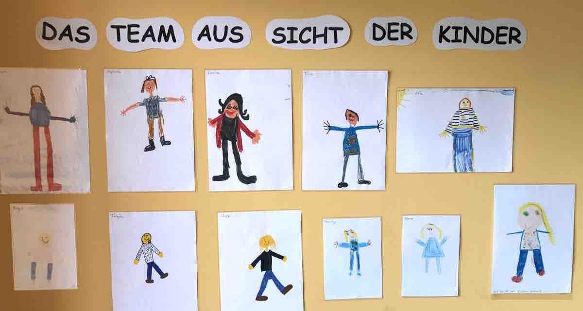 Ein Team aus Sicht der Kinder - KitaKram.de #kitaräume