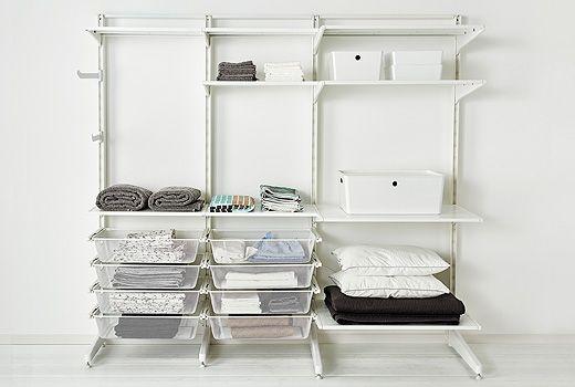 組み合わせ自由自在 Ikeaの壁面収納棚algot アルゴート