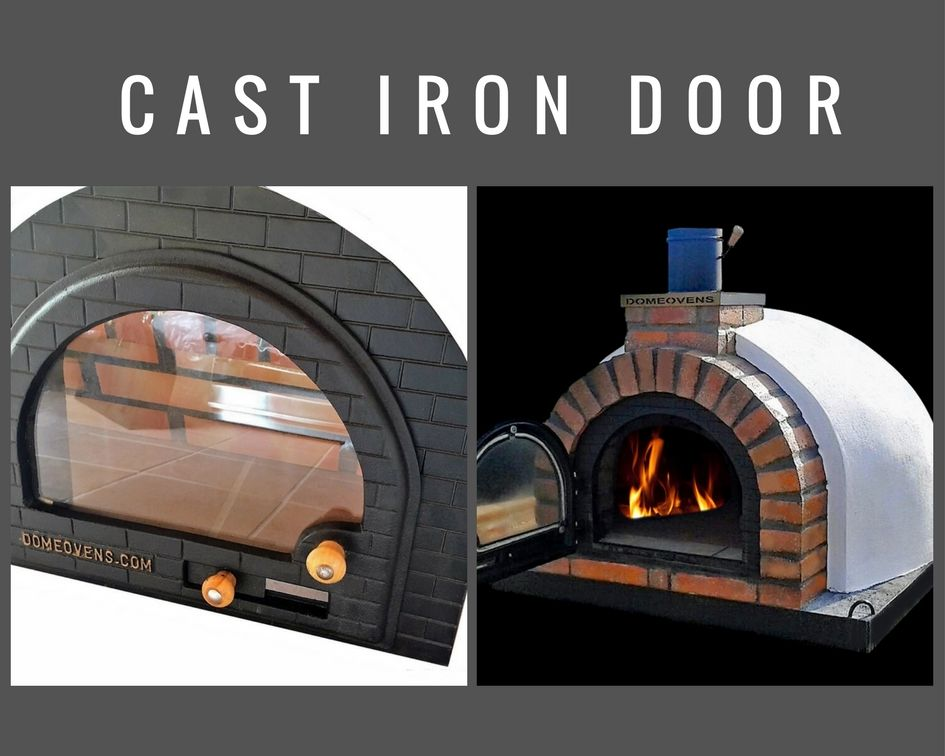 Wood Fired Pizza Oven Glass Door Wood Fired Pizza Ovens