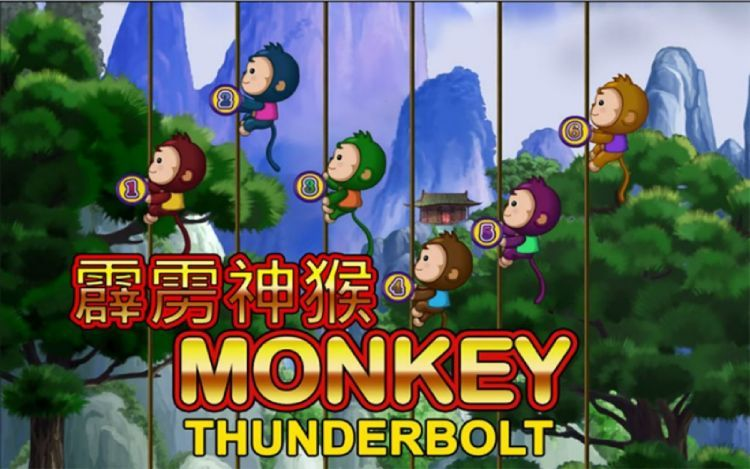Monkey Thunderbolt play with adorable monkeys to win