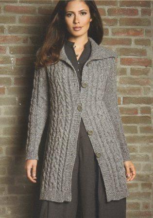 modele de gilet a tricoter gratuit pour femme
