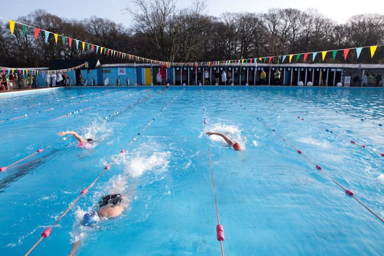 Tooting Bec Lido 10 BEST OUTDOOR POOLS LONDON