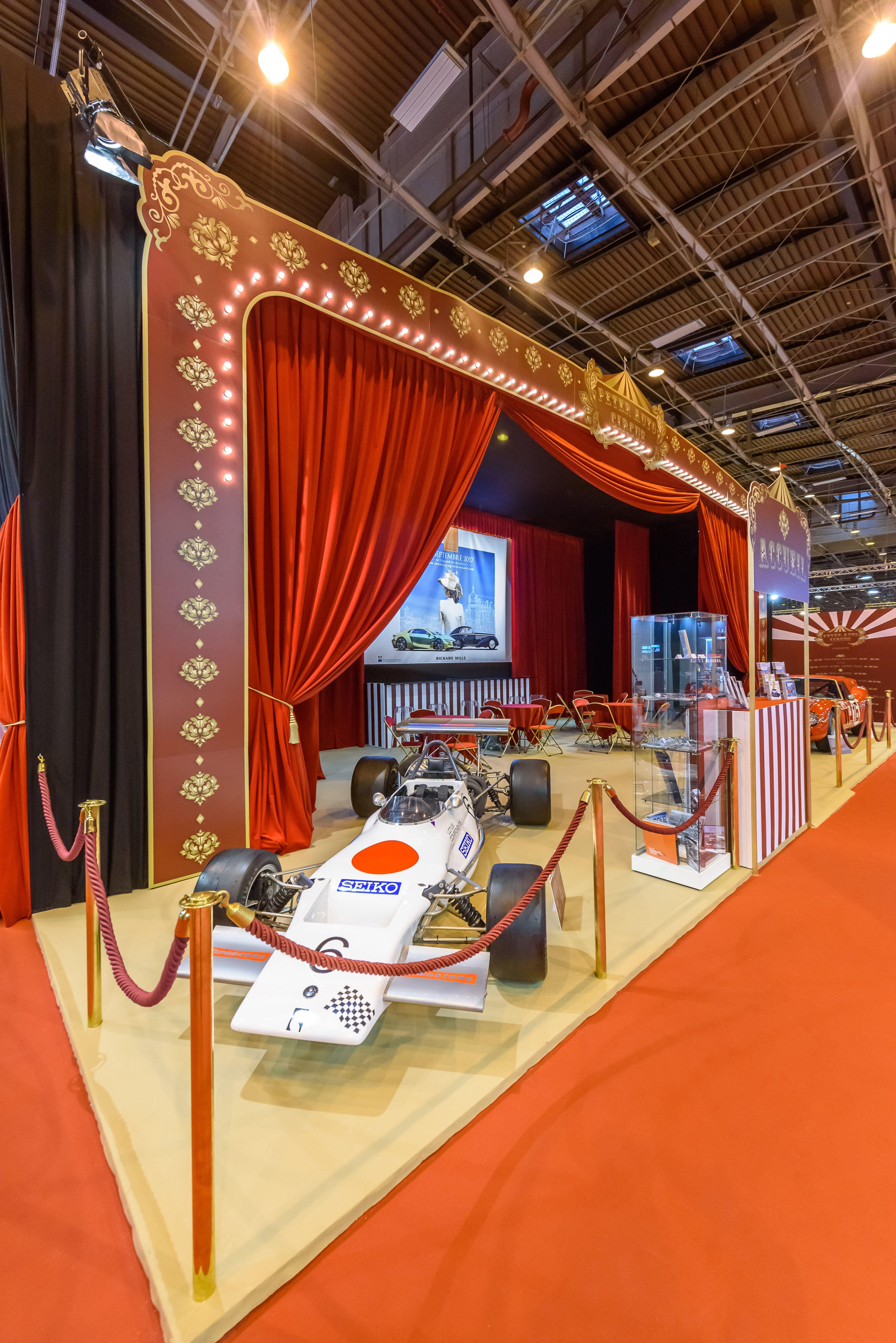 A l'occasion du Salon Rétromobile, Salon International des ...