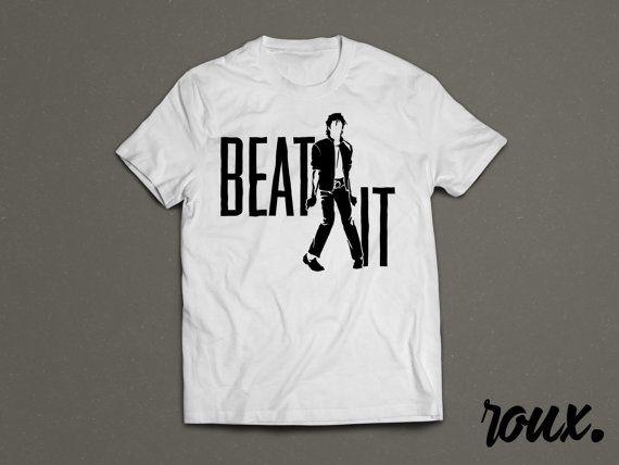 Beat It Michael Jackson Tribute Shirt by rouxbayou on Etsy | Michael ...