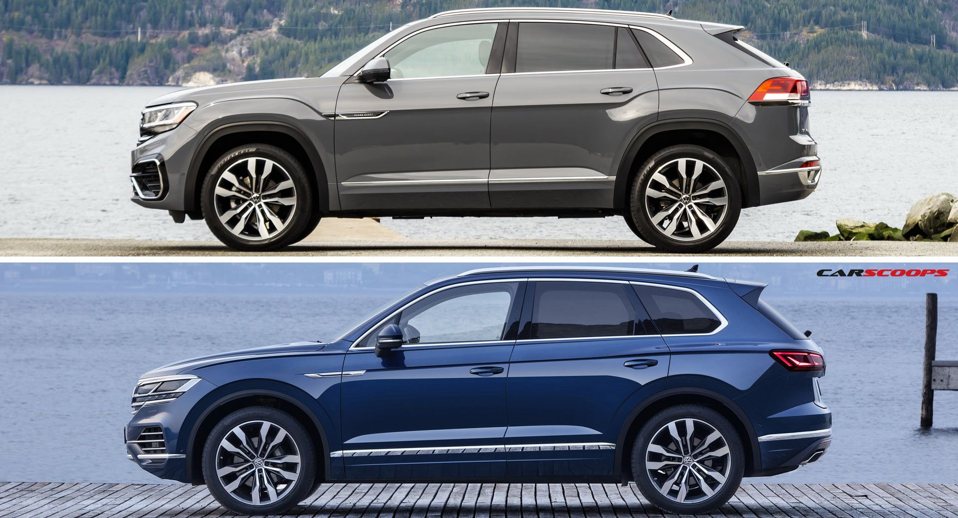 New 2017 VW Tiguan Photographed Completely Undisguised!