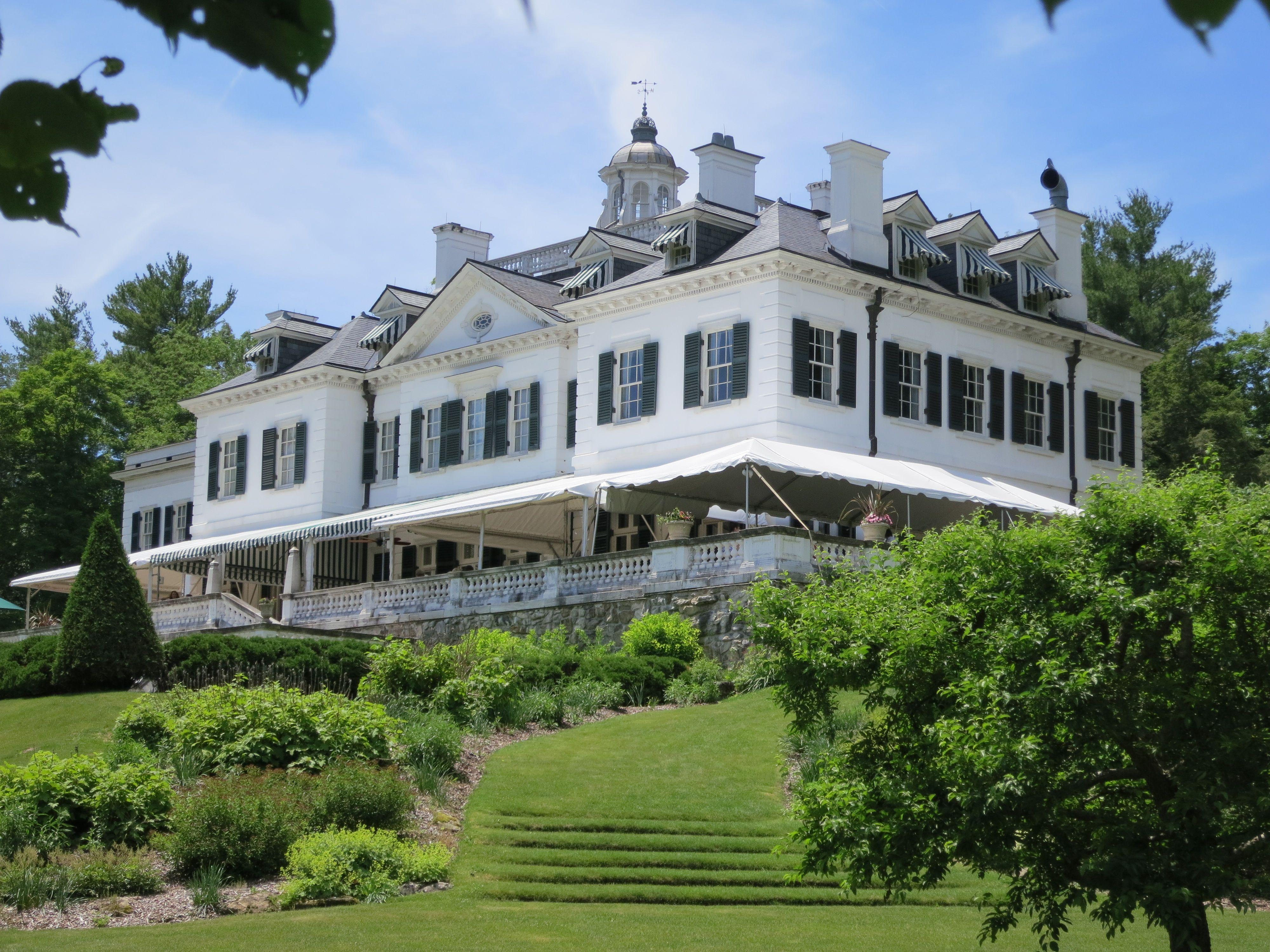 Edith Wharton House Lenox Catalano Visits The Mount S Enchanting Home