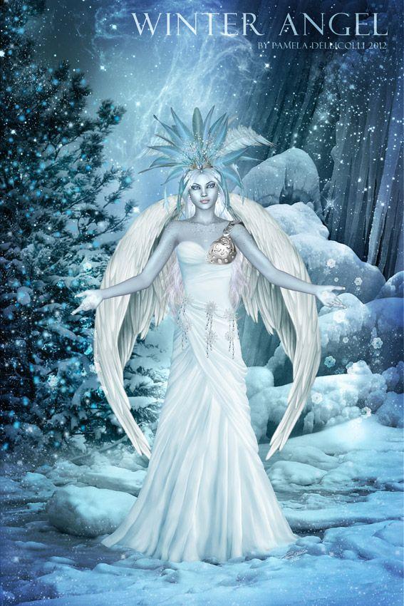 Winter Angel By Imaginedmoments Deviantart Com On Deviantart