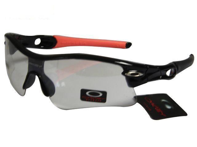 23723d6fa83 low-cost Oakley Radar Sunglasses polished black-pink frames clear lens sales  online