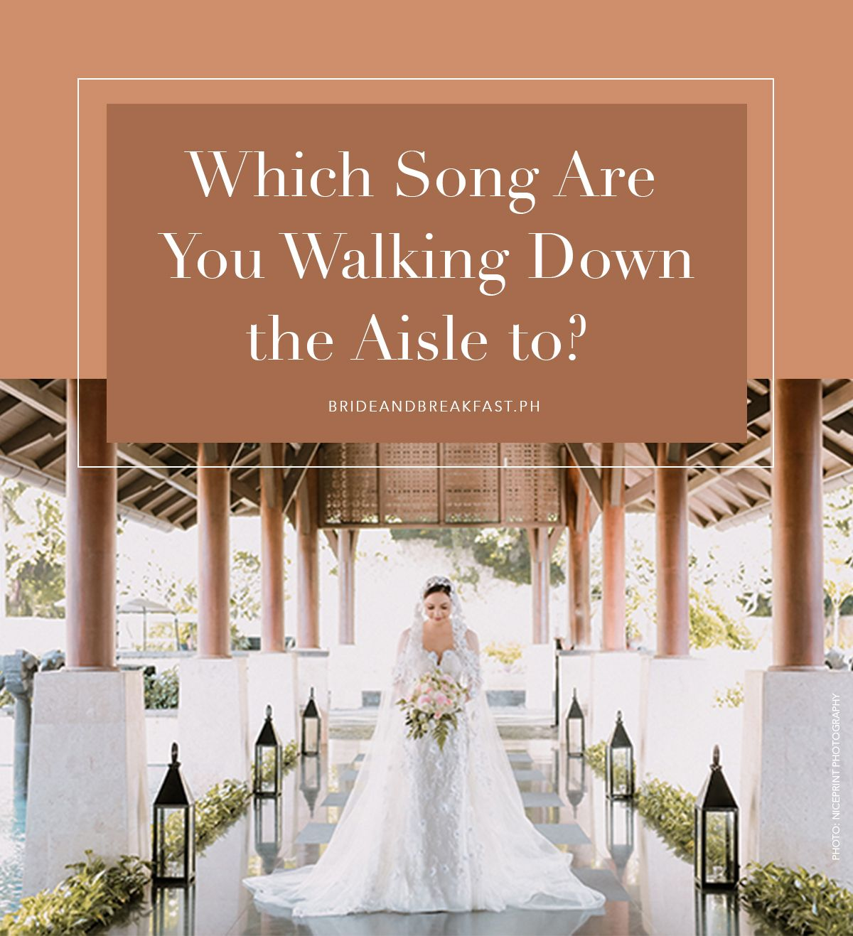 Bridal Party Walking Down The Aisle Songs: QUIZ: Which Song Are You Walking Down The Aisle To
