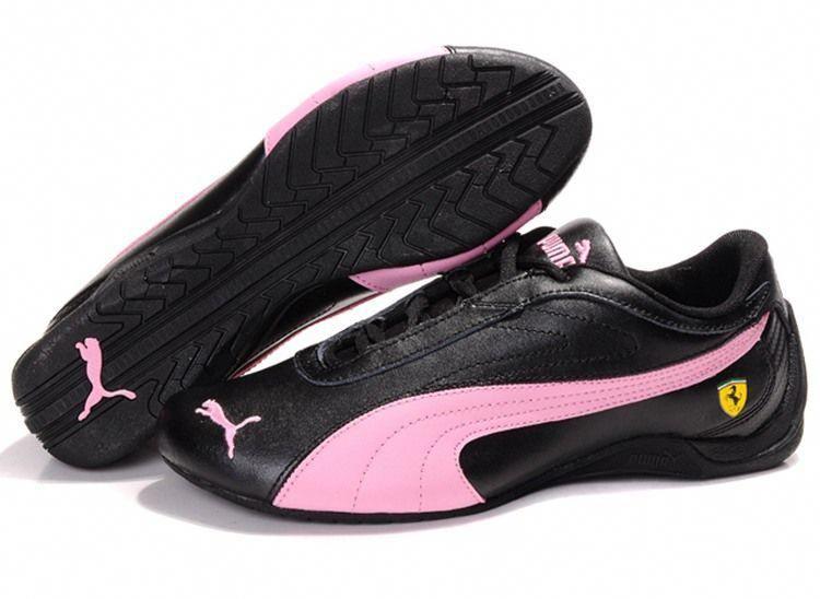 Women Puma Drift Cat II Ferrari - Black