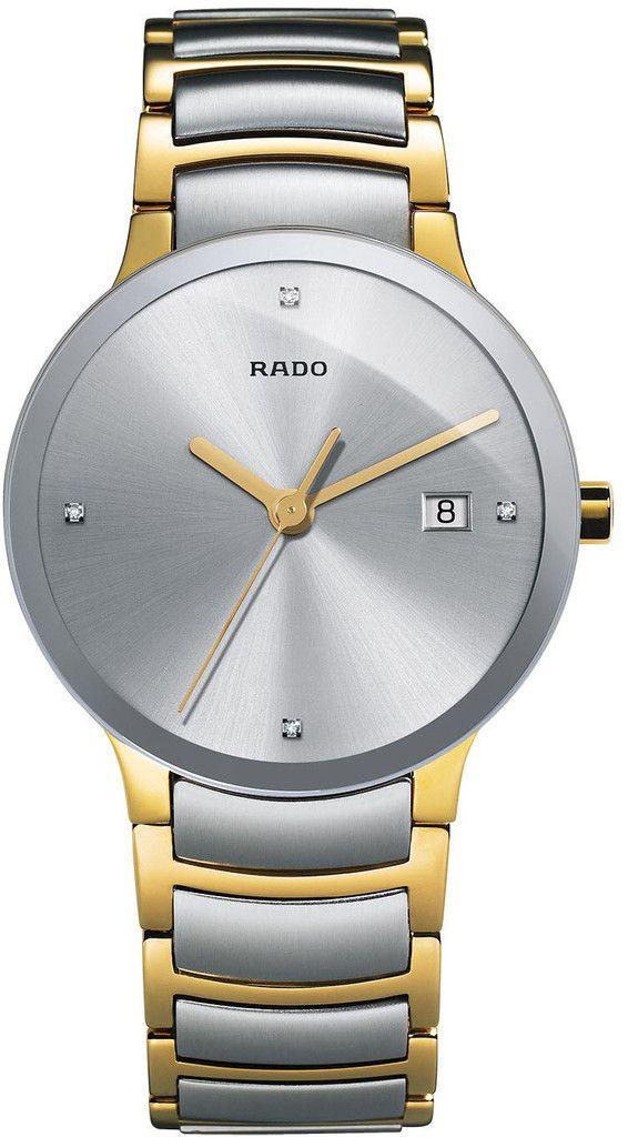 69b5c91ef Rado Watch Centrix L #bezel-fixed #bracelet-strap-gold #brand-rado  #case-material-steel #case-width-38mm #date-yes  #delivery-timescale-4-7-days ...