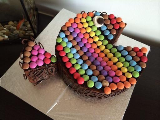 gâteau au chocolat des écoliers (déco poisson) | cuisine dessert