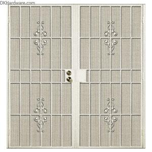 security screen doors for double entry   ... Columbia Belvedere Navajo 60\