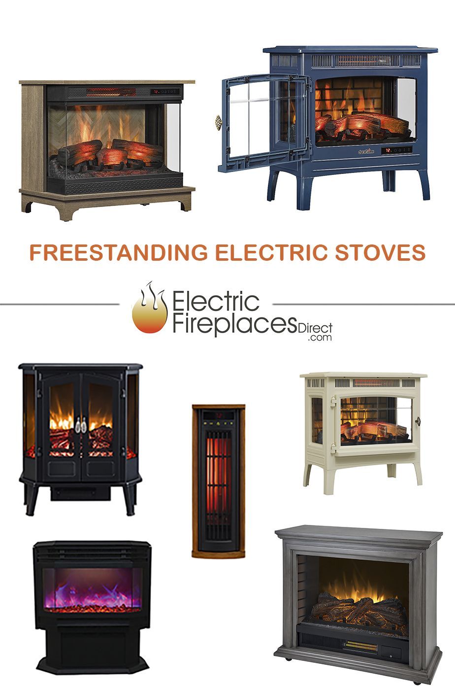 36 Electric Stoves Ideas Electric Stove Stove Fireplace Electric Fireplace
