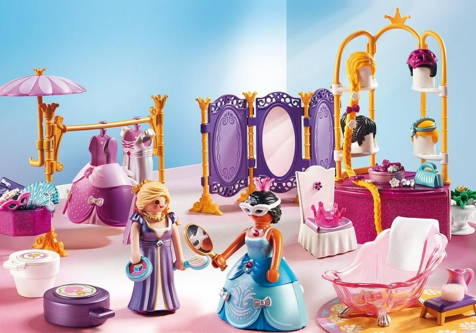 Epingle Par Mari Sur Playmobil Salon De Beaute Playmobil Miniatures Pour Maison De Poupee