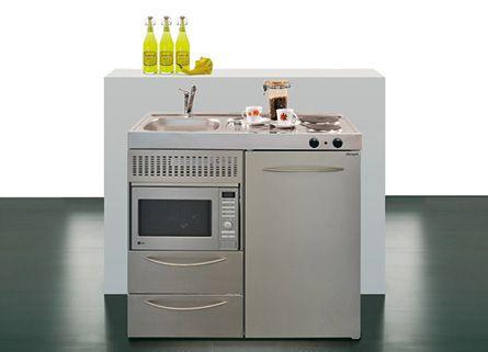 mini cocinas compactas para pequeos espacios cocinas con estilo - Mini Cocinas