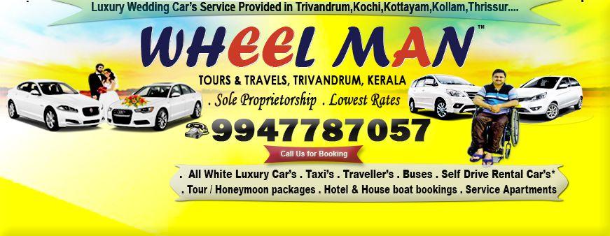Wheel Man Tours Travels Trivandrum Car Tour Wedding Car Honeymoon Packages